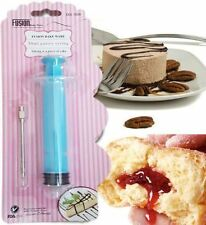 30ml PASTRY ICING FROSTING CAKE SYRINGE BAKING INJECTOR BAKEWARE FILLING FLAVOUR