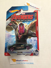 Vision * Muscle Tone * Avengers Marvel * 2015 Hot Wheels * Walmart Only * E22