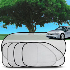 5Pcs Side Rear Window Screen Mesh Sunshade Sun Shade Cover For Car UV Protection