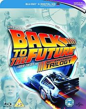 Back To The Future Trilogy 30th Anniversary Box Set New Blu-Ray Region Free