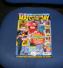 MATCH OF THE DAY MAGAZINE ISSUE NO.238 27 NOVEMBER - 10 DECEMBER 2012
