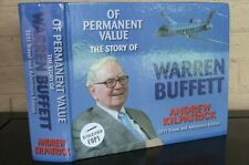 Of Permanent Value: The Story of Warren Buffett. by Kilpatrick, SIGNED 1st ed.