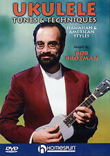Ukulele Tunes & Techniques Brozman Tutor lesson DVD NEW