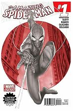 AMAZING SPIDER MAN #1 (2014) LIMITED EDITION ADI GRANOV SKETCH VARIANT