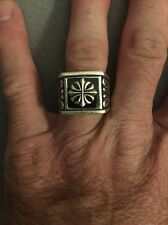 Authentic 925 sterling silver men's ring very rare!!!!