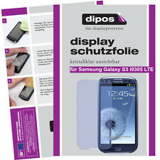 2x Samsung Galaxy S3 i9305 LTE screen protector protection crystal clear