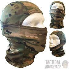 Multicam Camouflage Balaclava Face Wrap Sniper Veil Head Face Cover Airsoft Camo