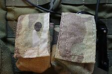 Two (2) Counterweight Pouch in Multicam - Fits Surefire CR123 batteries or Zippo