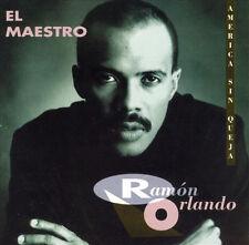 """RAMON ORLANDO """"EL MAESTRO"""" America Sin Queja - New CD - 1993 Karen Records"""