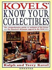 Kovels' Know Your Collectibles by Ralph M. Kovel (1992, Paperback)