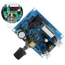 Adjustable LM317 LED Display Voltage Regulator Step-down Module AC/DC to 5v 12v