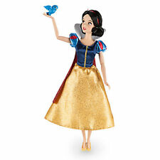 "NEW Disney Store Snow White Classic 12"" Doll with Bluebird Figure"