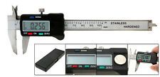 6'' 150mm dual vernier scale caliper depth gauge stainless steel dial test gem