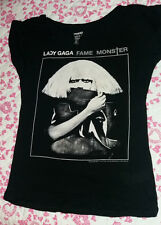 LADY GAGA T-shirt L Zara Artpop Born this way the fame monster perfect illusion