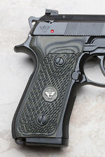Wilson Combat - Beretta 92/96 G10 Ultra Thin Grips - Checkered - Dirty Olive