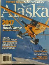 Alaska Dec Jan 2017 Travel Planner No More Excuses Winter Hunt FREE SHIPPING sb