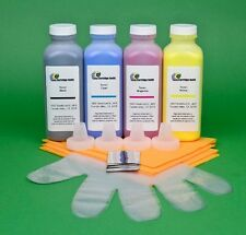 Ricoh Aficio CL1000N SP C210 C210SF 4-Color Toner Refill Kit. 920gr.