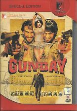 GUNDAY-ARJUN KAPOOR,RANVEER SINGH,PRINKA NEW ORIGINAL BOLLYWOOD DVD FREE UK POST
