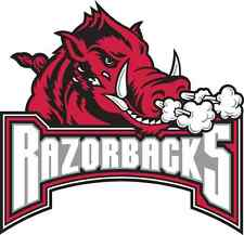 Arkansas Razorbacks NCAA Color Die-Cut Decal / Car Sticker *Free Shipping