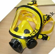 Full Face Post Punk  Facepiece Yellow  GENUINE Gas Mask Respirator GP-9  2016
