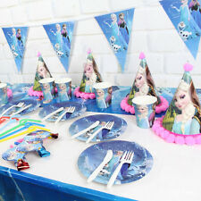 Theme Party Kids Girl Birthday Party Decoration Paper Banner Including 10 Flags