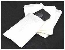 100 x White Paper Jewellery Gift Packaging Presentation Bags 6x9 (15cm x 24cm)