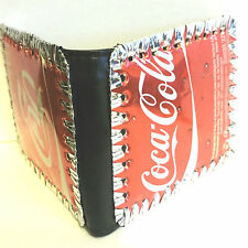Coca Cola wallet, Handmade Recycled Coke Can Wallet, recycled can