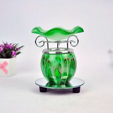Electric Scented Oil Warmer Lamp Wax Tart Burner Bulb Fragrance Diffuser Green