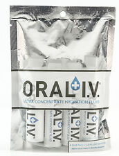 Oral IV Ultra Concentrate Bicycle Running Hiking Camping Hydration Fluid 4 Pack