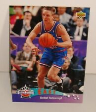 CARTE DE COLLECTION BASKET BALL EAST ALL STARS DETLEF SCHREMPF