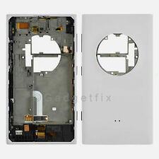 OEM Nokia Lumia 1020 Back Cover Housing + Power Volume Charger Port Flex White