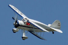 1/12 Scale Waco YKS-6 Biplane Plans,Templates and Instructions
