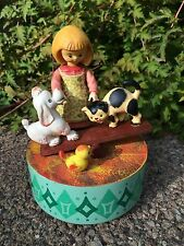 Vintage Anri Music Box Talk To The Animals Handcrafted Made In Italy