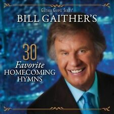 "GAITHER GOSPEL SERIES, 2 CD SET ""30 FAVORITE HOMECOMING HYMNS"" NEW SEALED"