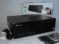 Media Center PC (HTPC); Intel Core i3-4160 3,6 GHz, 8GB DDR3, 120 GB SSD, 2 TB, DVD