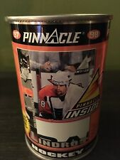 1998 ERIC LINDROS Pinnacle Inside SILVER Hockey Card CAN - Opened / Flyers