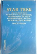 Star Trek: Annotated Guide to Resources, People, TV Series, Films, Novels (1991)