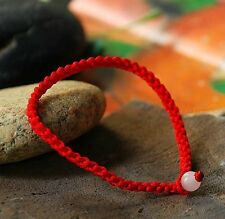 5pcs Auspicious Chinese red rope hand-knitted lucky bracelet accessories