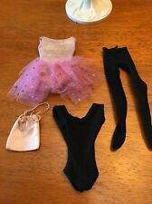 VINTAGE BARBIE SKIPPER DOLL OUTFIT - SKIPPER BALLET LESSON  #1905 EARLY 60'S