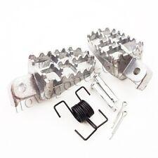 Aluminium Footrest Footpeg For XR50R CRF50 CRF70 CRF80 CRF100F Honda Dirt Bikes