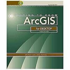 GETTING TO KNOW ARCGIS FOR DESKTOP - NEW PAPERBACK BOOK