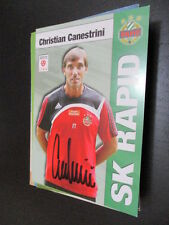 55613 Christian Canestrini Rapid Wien original signierte Autogrammkarte