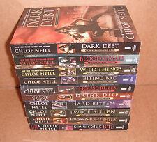 Chicagoland Vampires Books Vol 1,2,3,4,5,7,8,9,10,11 Chloe Neill Paperback NEW