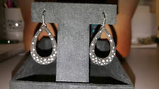 David Yurman Midnight Melange Diamond Sterling Silver Dangle Earrings