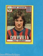 BELGIO-FOOTBALL 75-PANINI-Figurina n.183- COURANT - CLUB LIEGEOIS -Rec