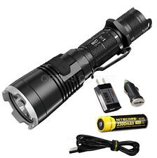 NiteCore MH27 1000 Lumen Rechargeable LED Flashlight w/ WRGB LEDs, 18650 Battery