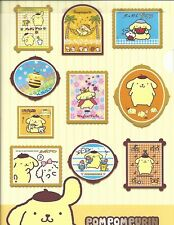 Sanrio Pom Pom Purin Folder Portfolio Side Open Frames