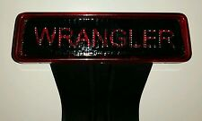 2007-2015 Jeep Wrangler JK 3rd brake light jeep decal cover