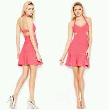 NWT GUESS pink Mirage Sleeveless Bandage Dress with Cutouts size XS