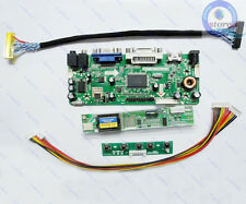 (HDMI+DVI+VGA)LCD Driver Board Inverter Lvds Converter Kit for 15.4 LTN154X3-L01